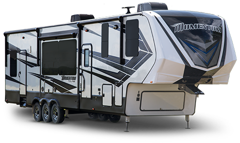 Momentum Fifth Wheel Toy Hauler Grand Design Rv