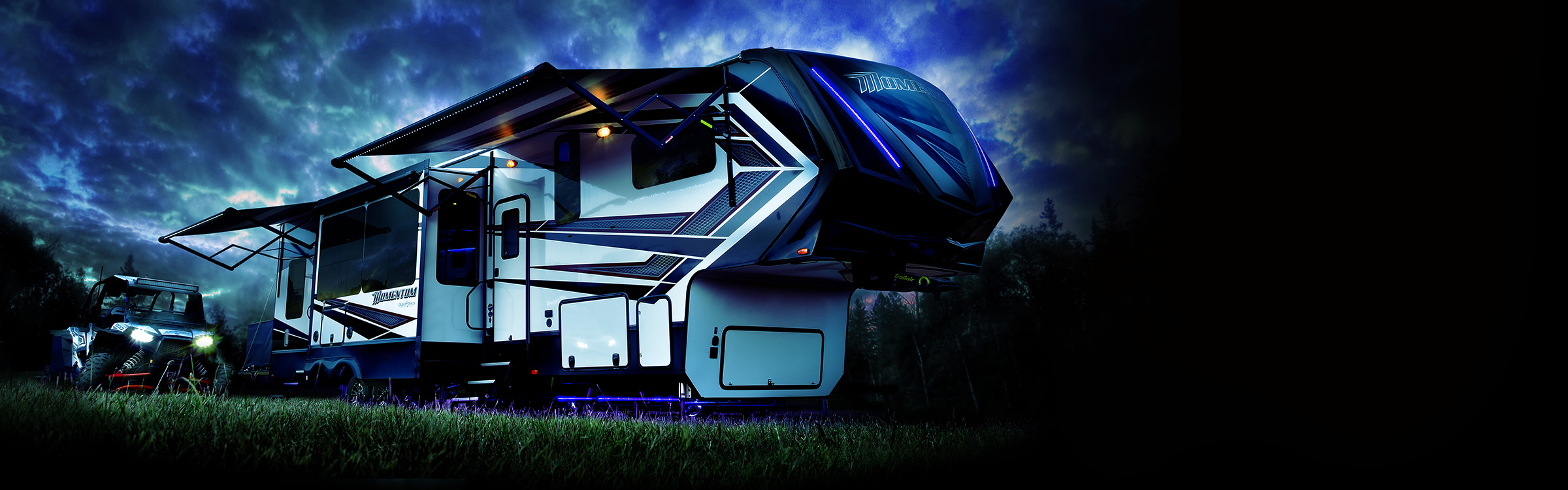 Momentum Fifth Wheel Toy Hauler | Grand Design RV