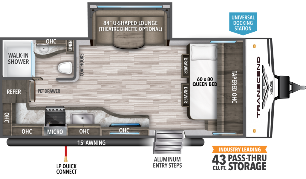 Transcend XPLOR 187MK Floorplan