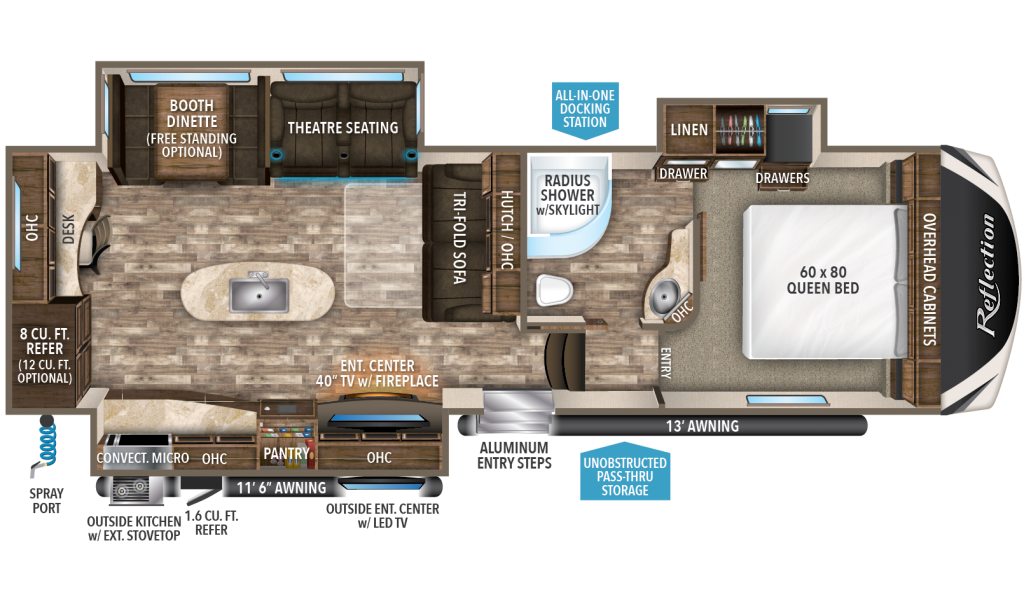 Reflection 307MKS Floorplan