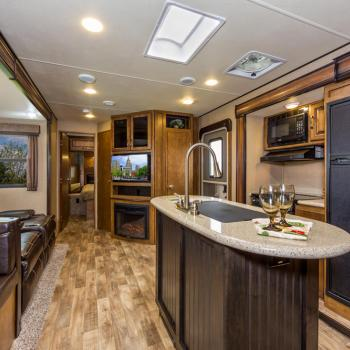 Reflection Travel Trailer Interior