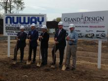 Grand Design RV Breaking Ground on big expansion project