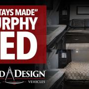 """Stays Made"" Murphy Bed in Imagine XLS"