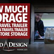 Just how much storage is there in the Grand Design RV Xplor? We put it to the test