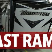 Easy to Use FAST Ramp for Grand Design Momentum Toy Hauler